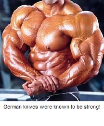 German knives are strong