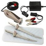 Rapala Electric Fillet Knife | ProGuide Deluxe Set or Rechargeable Cordless Model