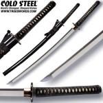 Cold Steel Warrior Functional Katana | Full Tang Japanese Samurai Sword