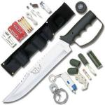 United Cutlery Bushmaster Survival Knife | Flashlight and Kit