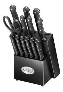 Ginsu Cutlery Knife Block Set