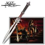 Kit Rae Avaquar Fantasy Sword | Twin Stainless Steel Fixed Blade