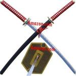 Bleach Sword | Plum Tree Soul Reaper Anime Replica Katana | Fantasy Japanese Blade