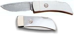 Boker Damascus Pearl Gentleman's Knife