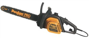 Poulan Electric Chainsaw, Tree Cutting