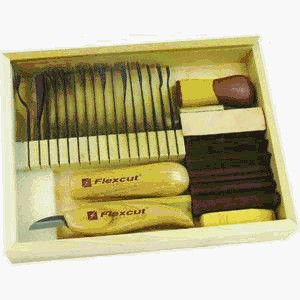 Flexcut Carving Starter Set, Spring