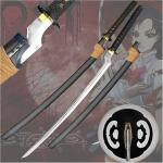 Blood+ Saya Otanashi Replica Katana, Offset | Japanese Anime Fantasy Sword