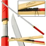 Zatoichi Ninja Replica Katana Sword Cane, Hanzo Steel | Shirasaya Full Tang Battle Ready