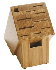 Shun Bamboo Knife Block for Asian