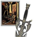 United Cutlery Kit Rae Kilgorin Fantasy Sword w/ Black Blade | 10th Anniversary Collector's Edition