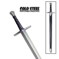 Cold Steel Medieval Sword w/ Leather