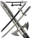 Samurai 3000 Fantasy Sword by United Cutlery | Futuristic Weapon Katana w/ Scabbard