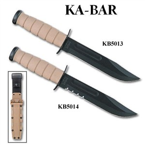 Ka-Bar Desert Fighting Combat Knife