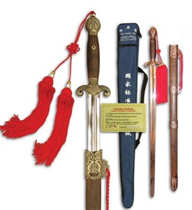 Tai Chi Competition Straight Sword,