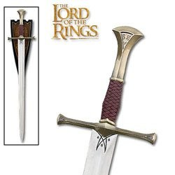 Lord of the Rings Isildur Sword w/