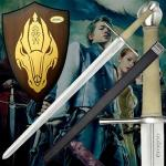 Brom Eragon Sword Licensed Official Replica | Fantasy Display Longsword w/ Sheath & Plaque