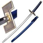 Grimmjow Jeagerjaques Katana, Arrancar Army | Bleach Anime Zanpakuto Sword, Full Tang Blue