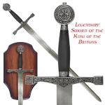 Legendary Britons King Sword Replica w/ Display Plaque | Medieval Celtic Renaissance Weapon Review for SCA, LARP