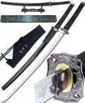 The Octopus Samuel L Jackson Katana from The Spirit Movie | Handmade Forged Sword w/ Display Stand & Bag
