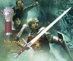 Peter's Sword From The Chronicles of Narnia Movie | Rhindon Aslan Hand and a Half Fantasy Blade