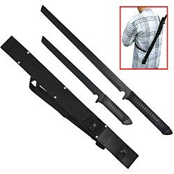 Ninja Twin Blades Sword Set w/ Harness