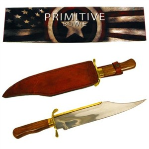 Primitive Bowie Knife Replica by