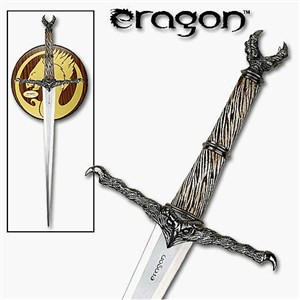 Eragon Durza Sword Replica & Plaque,
