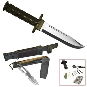 Jungle King Bowie Hunting Knife by