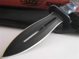 Uzi Battlefield Commander Fixed Knife