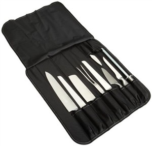 Concord Master Chef Knife Roll Set w/