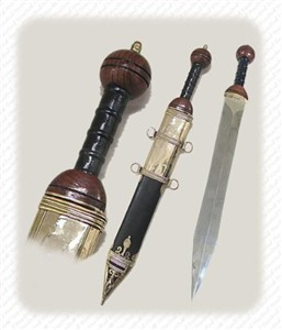 Hand Forged Roman Sword, Authentic