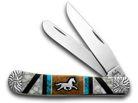 Case Yellowhorse Turquoise Trapper