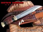 Crocodile Dundee Knife Replica | Bowie Australian Frontier Fixed Blade by Down Under Knives